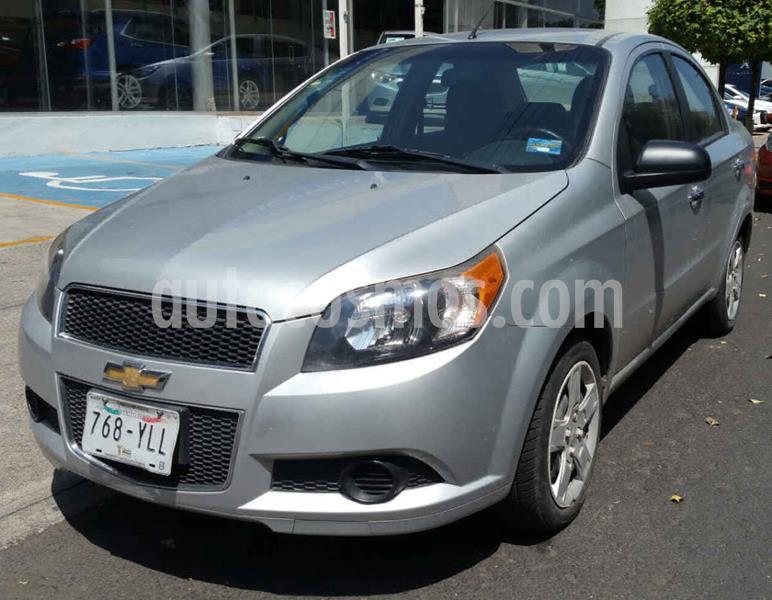 Chevrolet Aveo LS Aa usado (2013) color Plata precio $89,000