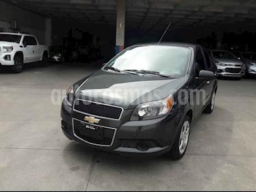 Chevrolet Aveo 4p LT L4/1.6 Aut usado (2018) color Gris precio $150,000