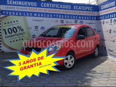 Chevrolet Aveo LS usado (2017) color Rojo Victoria precio $149,000