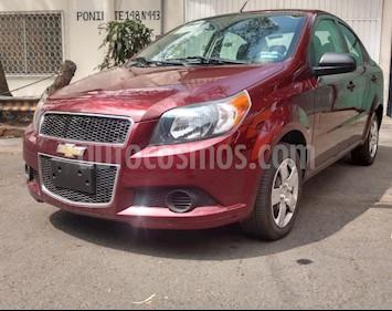 Chevrolet Aveo LS Aa radio (Nuevo) usado (2017) color Rojo Victoria precio $120,000