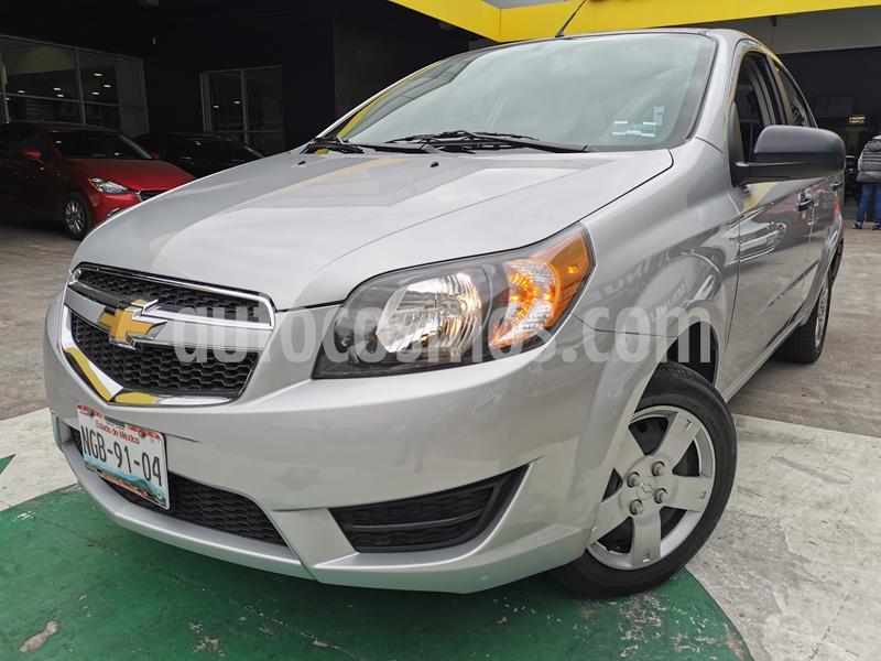 Foto Chevrolet Aveo LS usado (2018) color Plata Brillante precio $148,000
