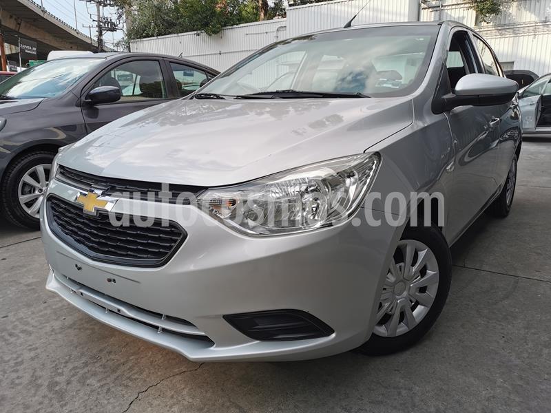 Foto Chevrolet Aveo LS usado (2019) color Plata Brillante precio $170,000