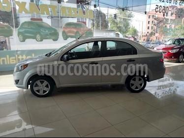 Chevrolet Aveo 4P LS AT A/AC. R-14 usado (2018) color Plata precio $133,000