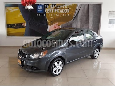 Chevrolet Aveo 4P LT L4/1.6 AUT usado (2016) color Gris precio $133,900