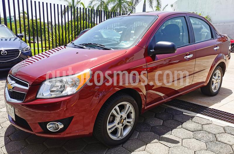 Foto Chevrolet Aveo LTZ usado (2017) color Rojo Tinto precio $150,000