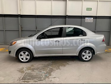 Chevrolet Aveo 4P LT AT A/AC. AUT. F. NIEBLA RA-15 usado (2018) precio $175,000