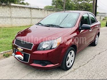 Chevrolet Aveo LT usado (2016) color Rojo Tinto precio $110,000