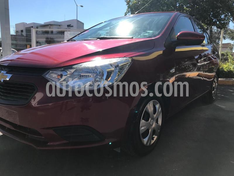 Foto Chevrolet Aveo LS usado (2019) color Rojo precio $160,000