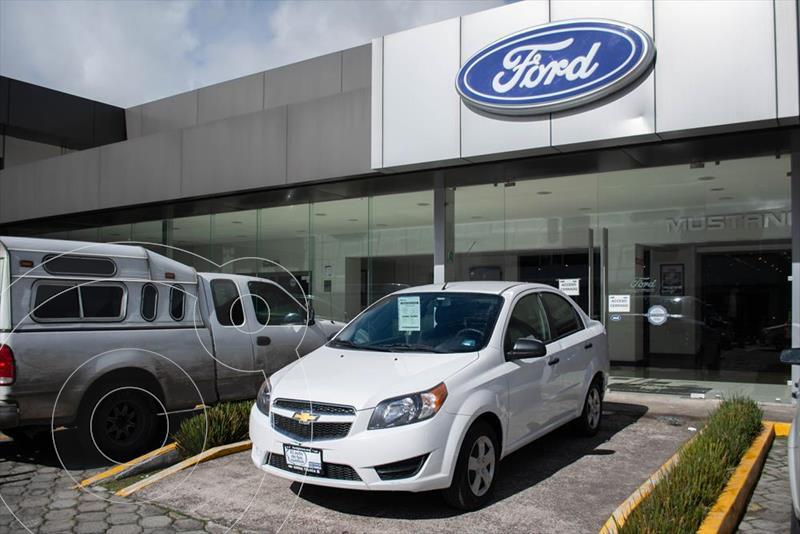 Foto Chevrolet Aveo LS MANUAL usado (2018) color Blanco precio $138,000
