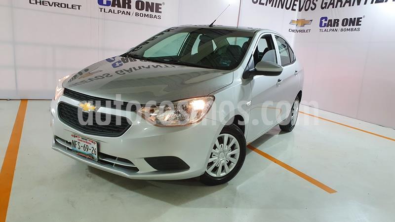 Chevrolet Aveo LS Aut (Nuevo) usado (2018) color Plata Brillante precio $149,999