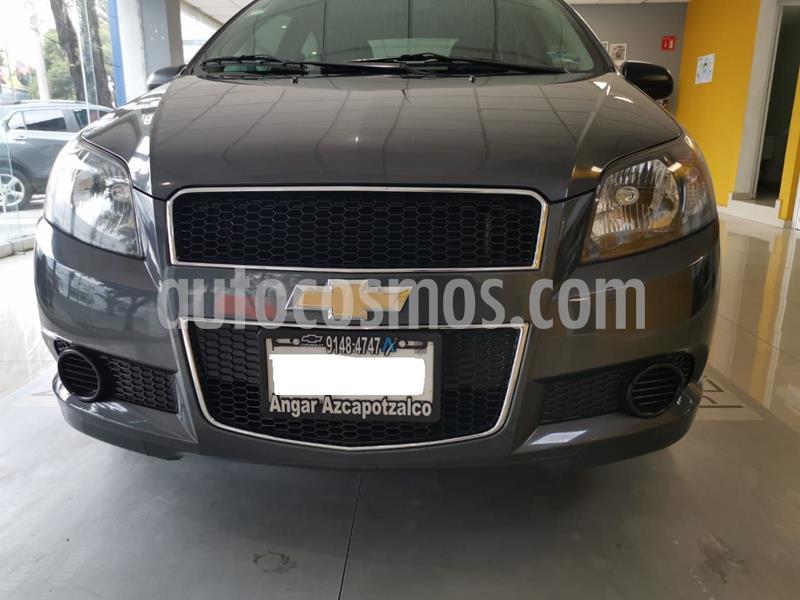 Chevrolet Aveo LT Aut usado (2016) color Gris precio $127,800