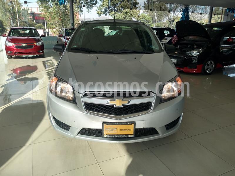Chevrolet Aveo LS Aut usado (2018) color Plata precio $130,000