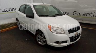 Chevrolet Aveo Paq E usado (2016) color Blanco precio $140,000