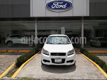 Chevrolet Aveo LT L4/1.6 MAN usado (2016) color Blanco precio $110,000