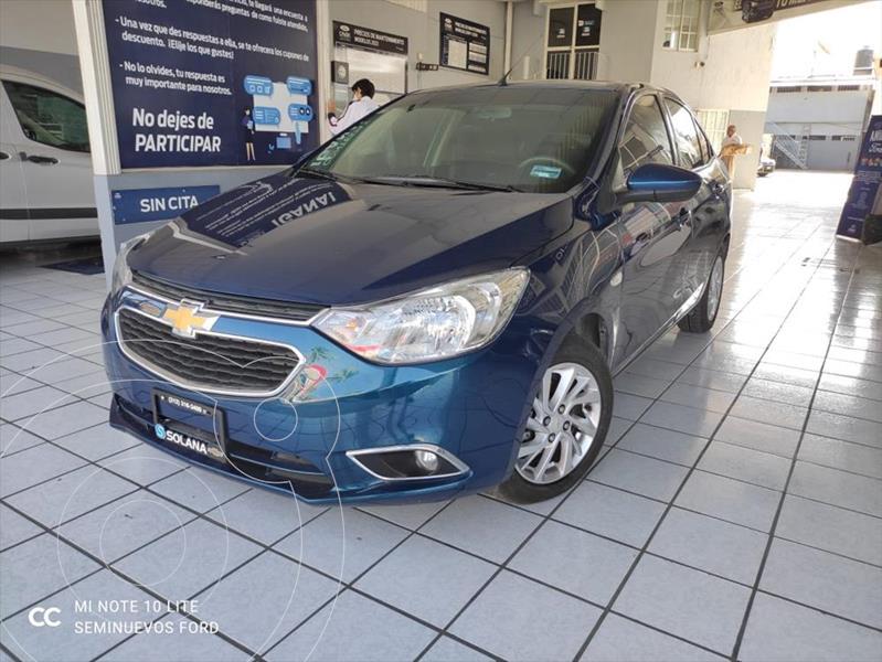 Foto Chevrolet Aveo LTZ MANUAL usado (2020) color Azul Electrico precio $205,000