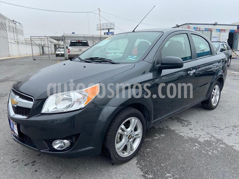 Chevrolet Aveo LTZ AUTOMATICO usado (2018) color Gris Oscuro precio $154,000
