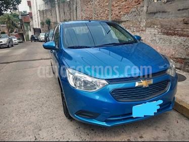 Chevrolet Aveo LT Bolsas de Aire y ABS Aut (Nuevo) usado (2019) color Azul Metalico precio $101,000
