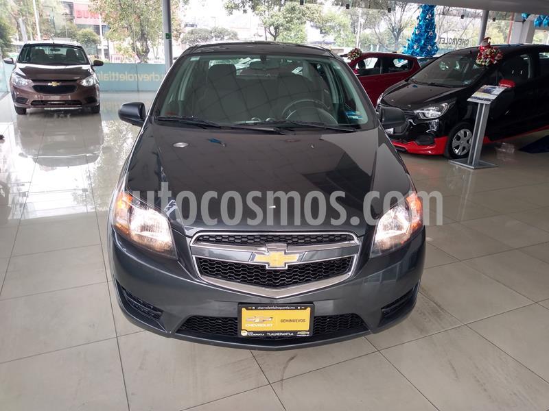 Chevrolet Aveo LS usado (2018) color Gris precio $129,000