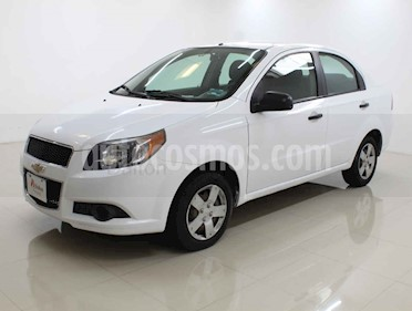 Chevrolet Aveo LS Aa usado (2014) color Blanco precio $99,000