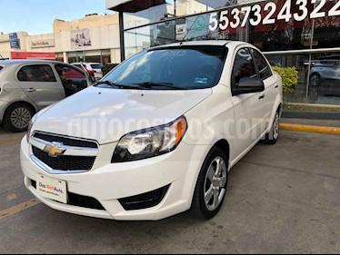 Chevrolet Aveo LT usado (2018) color Blanco precio $150,000