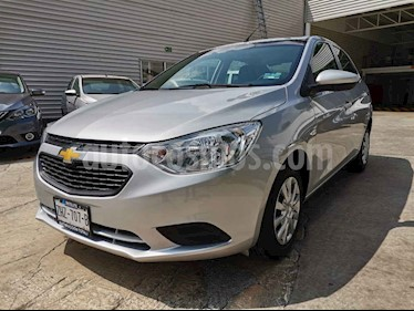 Chevrolet Aveo LS usado (2018) color Plata precio $149,000