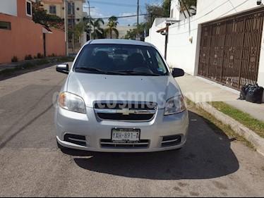 Chevrolet Aveo LS usado (2011) color Plata precio $66,900