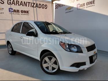Chevrolet Aveo LS Aa usado (2016) color Blanco precio $125,000