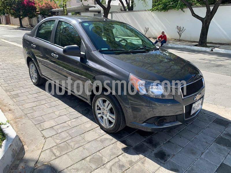 Chevrolet Aveo LT Bolsas de Aire y ABS (Nuevo) usado (2014) color Gris precio $149,900
