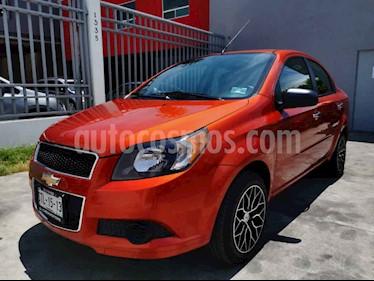 Chevrolet Aveo LT Aut usado (2016) color Naranja precio $125,000