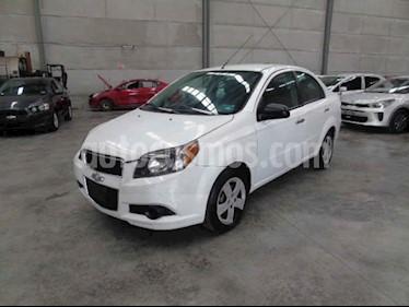 Chevrolet Aveo 4p LT L4/1.6 aut usado (2014) color Blanco precio $43,000