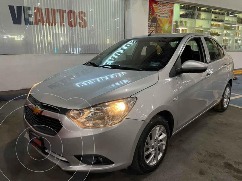 Chevrolet Aveo LT usado (2019) color Plata precio $158,000