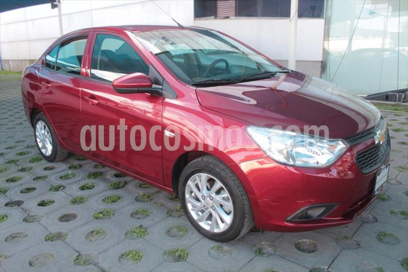 Chevrolet Aveo LT usado (2019) color Rojo precio $179,500