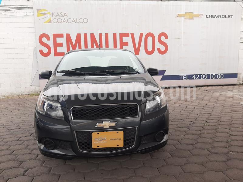 Chevrolet Aveo LS usado (2017) color Gris precio $138,000