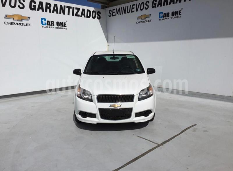 Chevrolet Aveo LS Aa Radio Aut (Nuevo) usado (2016) color Blanco precio $95,000