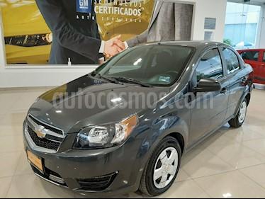 Chevrolet Aveo LS usado (2018) color Gris precio $138,285