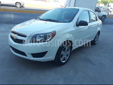 Foto Chevrolet Aveo LT Aut usado (2017) color Blanco precio $160,000