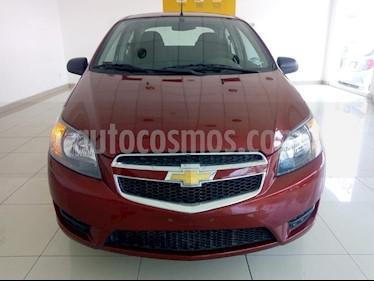 Chevrolet Aveo LS Aut usado (2018) color Rojo precio $155,000