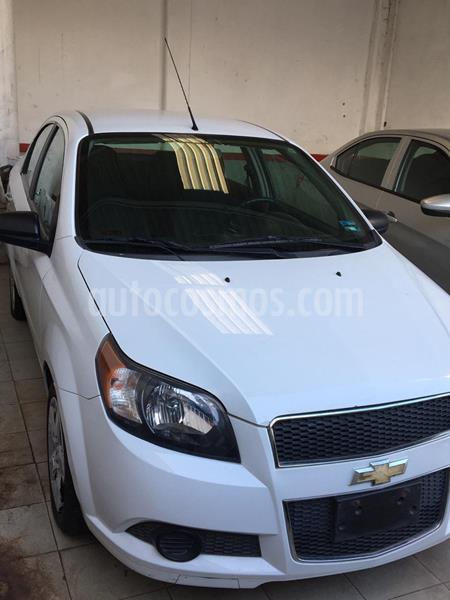 Chevrolet Aveo LS Aut usado (2017) color Blanco precio $123,000