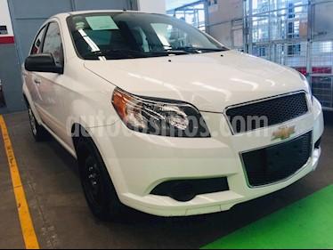 Chevrolet Aveo Paq B usado (2016) color Blanco precio $139,000