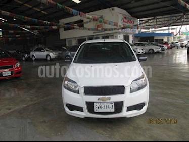 Chevrolet Aveo LS Aut usado (2015) color Blanco precio $135,000