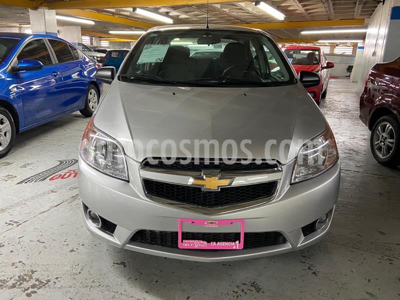 Chevrolet Aveo LTZ usado (2018) color Plata Brillante precio $159,500