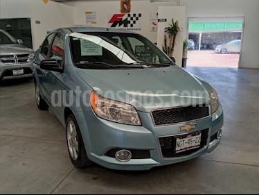 Chevrolet Aveo LTZ usado (2012) color Azul precio $105,000