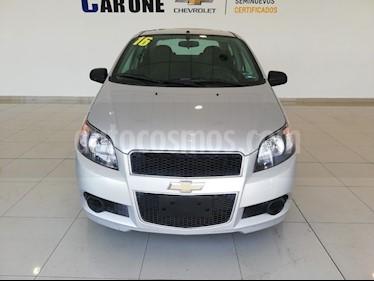 Foto Chevrolet Aveo LS Aa usado (2016) color Plata precio $135,000