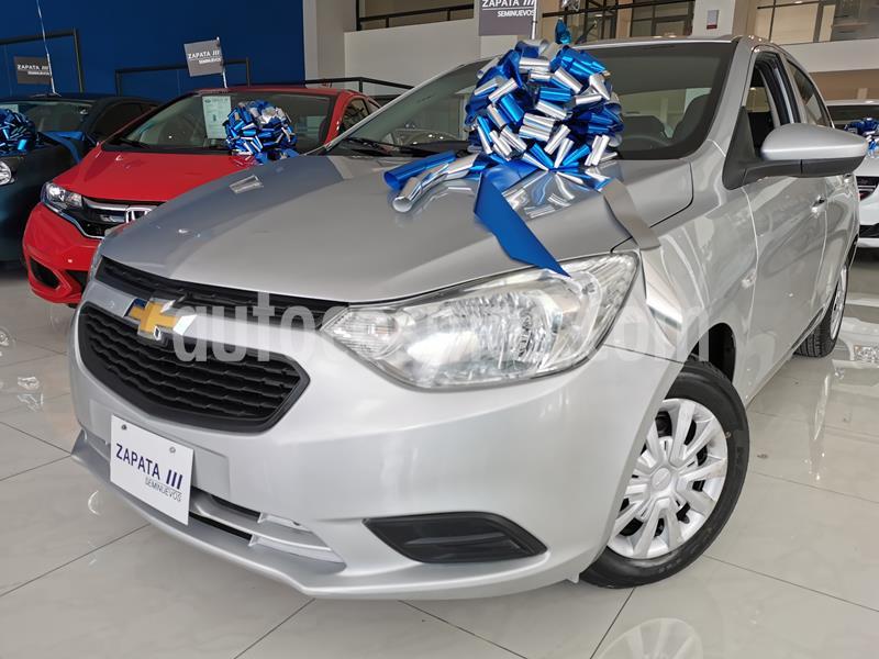 Foto Chevrolet Aveo LS usado (2018) color Plata Brillante precio $164,000