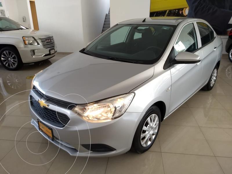 Foto Chevrolet Aveo LS Aa usado (2018) color Plata Dorado precio $160,000