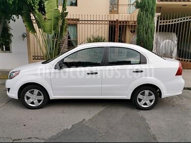 Chevrolet Aveo Paq M usado (2017) color Blanco precio $120,000