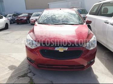 Chevrolet Aveo Paq D usado (2018) color Rojo Merlot precio $179,900