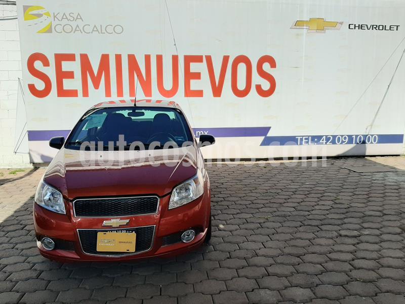 Chevrolet Aveo LTZ usado (2016) color Naranja precio $145,000