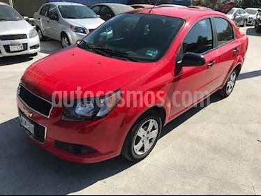 Chevrolet Aveo 4p LS L4/1.6 Man usado (2015) color Rojo precio $83,900