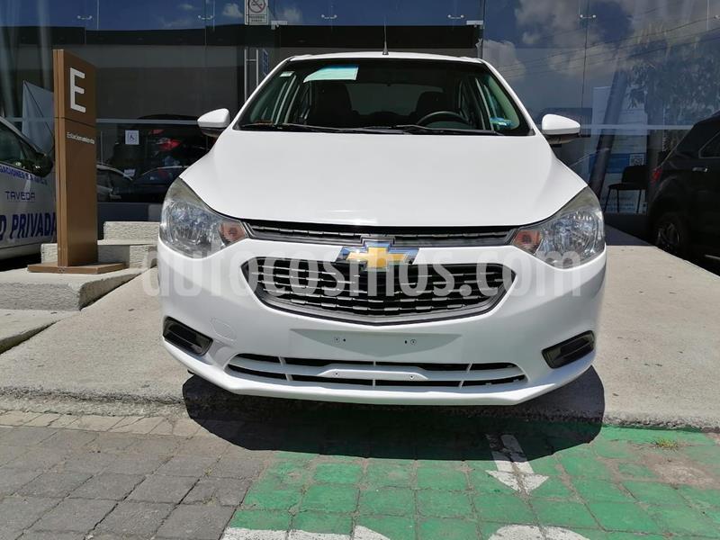 Chevrolet Aveo LS Aa usado (2018) color Blanco precio $150,000